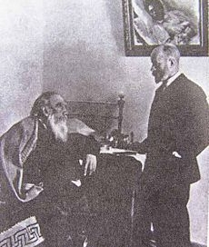 Tolstoy and Dushan Makovitsky