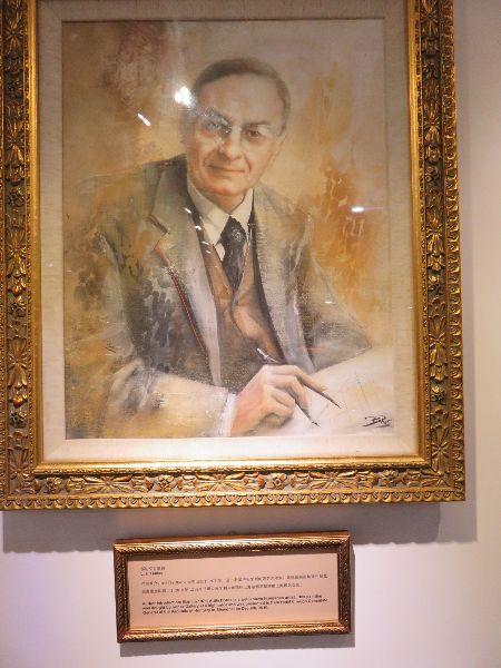 L. Hudec, portrét