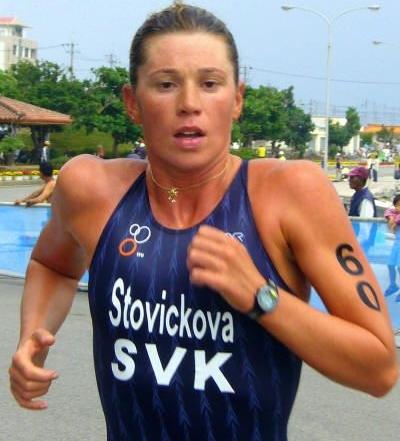 Magdaléna Stovíčková – Skrine – slovenská triatlonistka žijúca v New Yorku