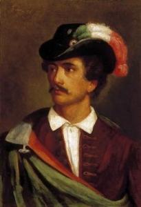 Portrét Sándora Petőfiho