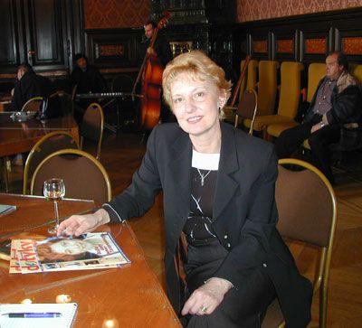 Naďa Vokušová – novinárka, predsedníčka