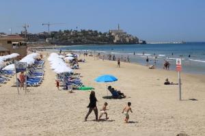 Jaffa a pláž