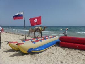 Tunis - na pláži