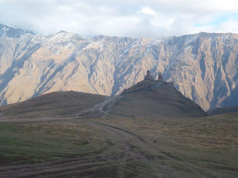 Kazbegi, chrám