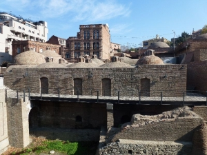 Tbilisi, sírne kúpele