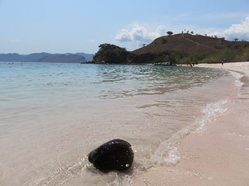 Ružová pláž, Flores