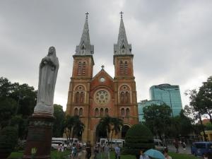 Katedrála v Saigone