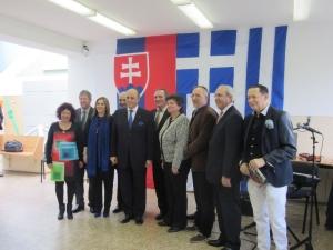 Veľvyslanci ako hostia