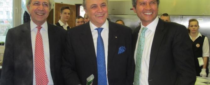 Cyperský, Grécky a Egyptský Veľvyslanci v kuchyni SOŠ Farského 9