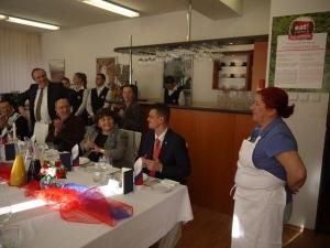 Poďakovanie pani srbskej kuchárke