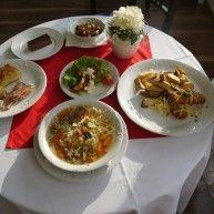 Ponuka srbských jedál