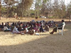 Africká škola v prírode