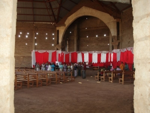Chór v kostole