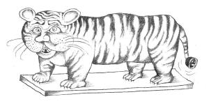 Malajský tiger, ilustr. Vanek
