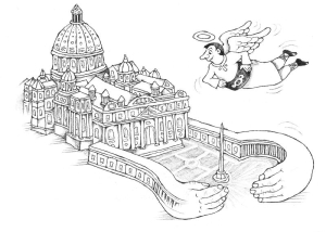 Taliansko, Zázrak, ilustr. Vanek