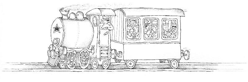 Vlak, ilustr. Vanek
