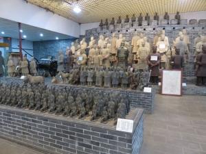 Čína, terakotoví vojaci