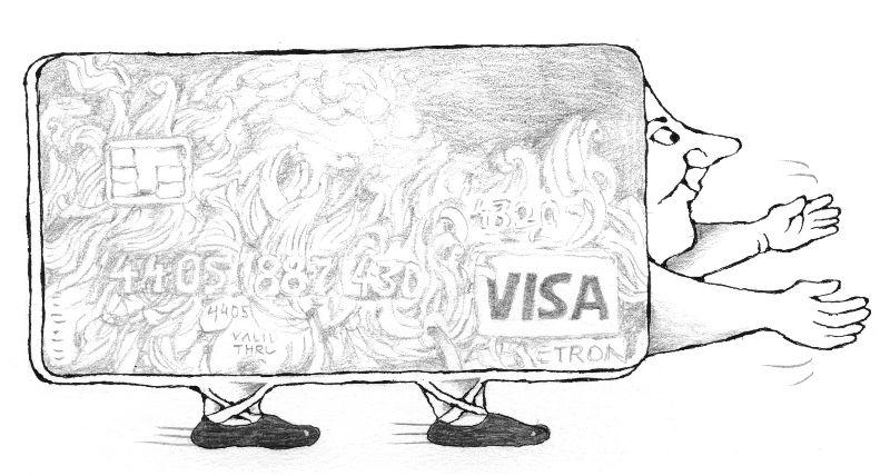 VISA, ilustr. Vanek