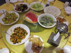 Čínsky obed