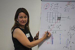 Profesorka matematiky Mária Lukáčová-Medviďová rieši praktické úlohy