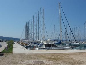 Chorvátsko - prístav
