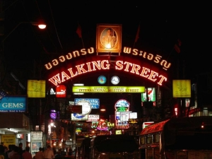 Pattaya, Walking street