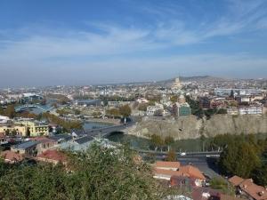 Panoráma Tbilisi