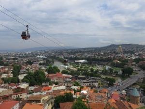 Tbilisi - panoráma