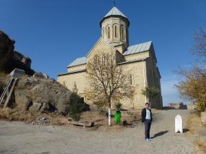 Chrám a Basa Janikašvili