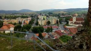 Fiľakovo, pohľad z hradu
