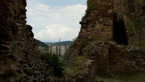 Fiľakovo, panoráma z hradu