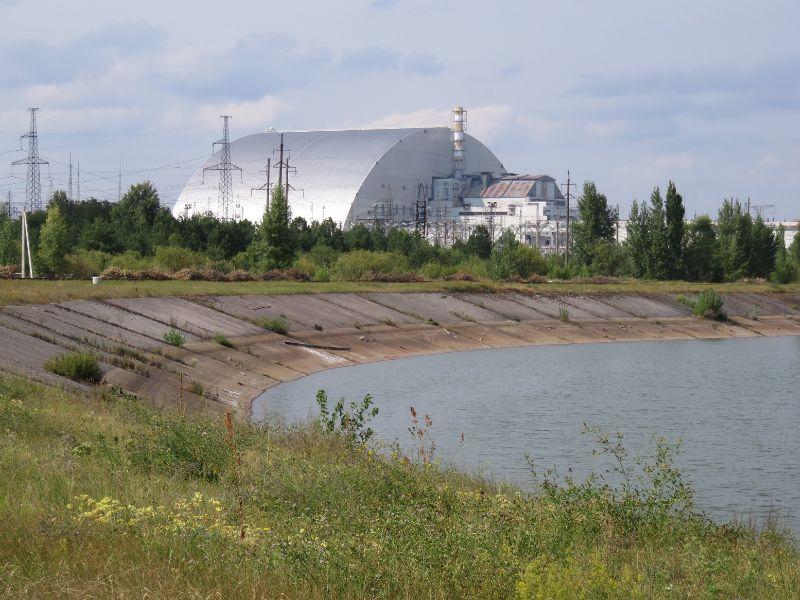 Černob. el., nový sarkofág