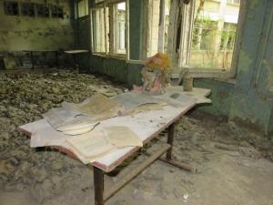 Škola s plyn. maskami 2
