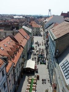 Pohľad z Michalskej veže