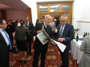 S Veľvyslancom Izraela Vapnim